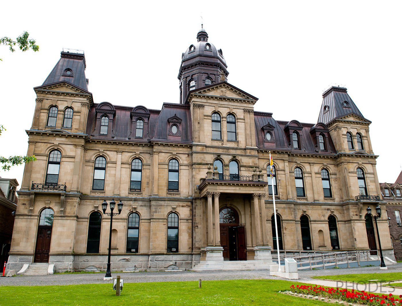 Parliament building in New Brunswick
