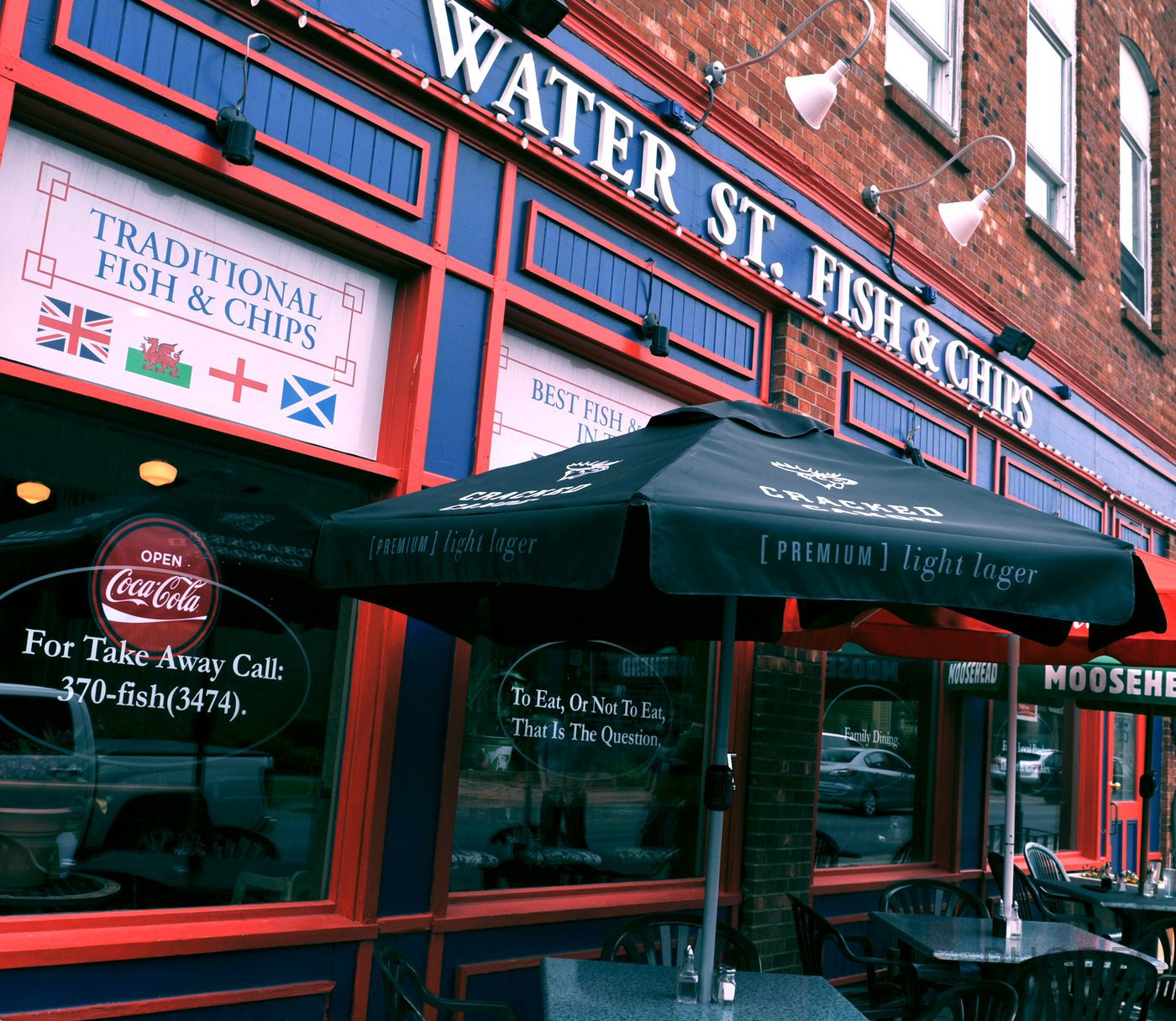 Water St. Fish and Chips restaurant in Charlottetown