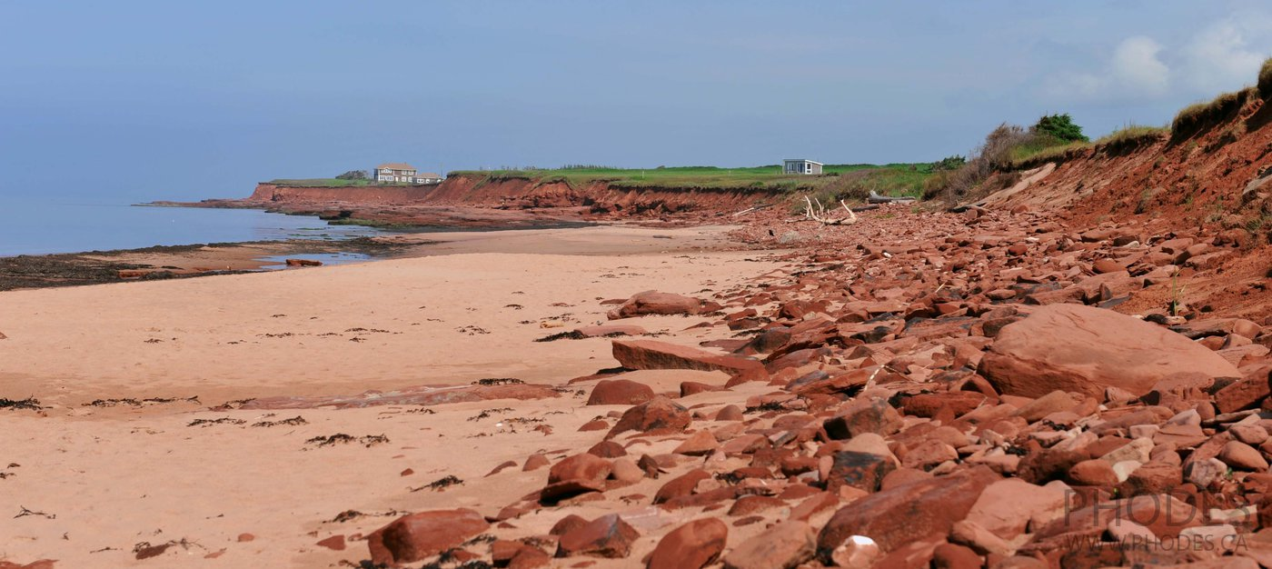 Prince Edward Island Red sands shores