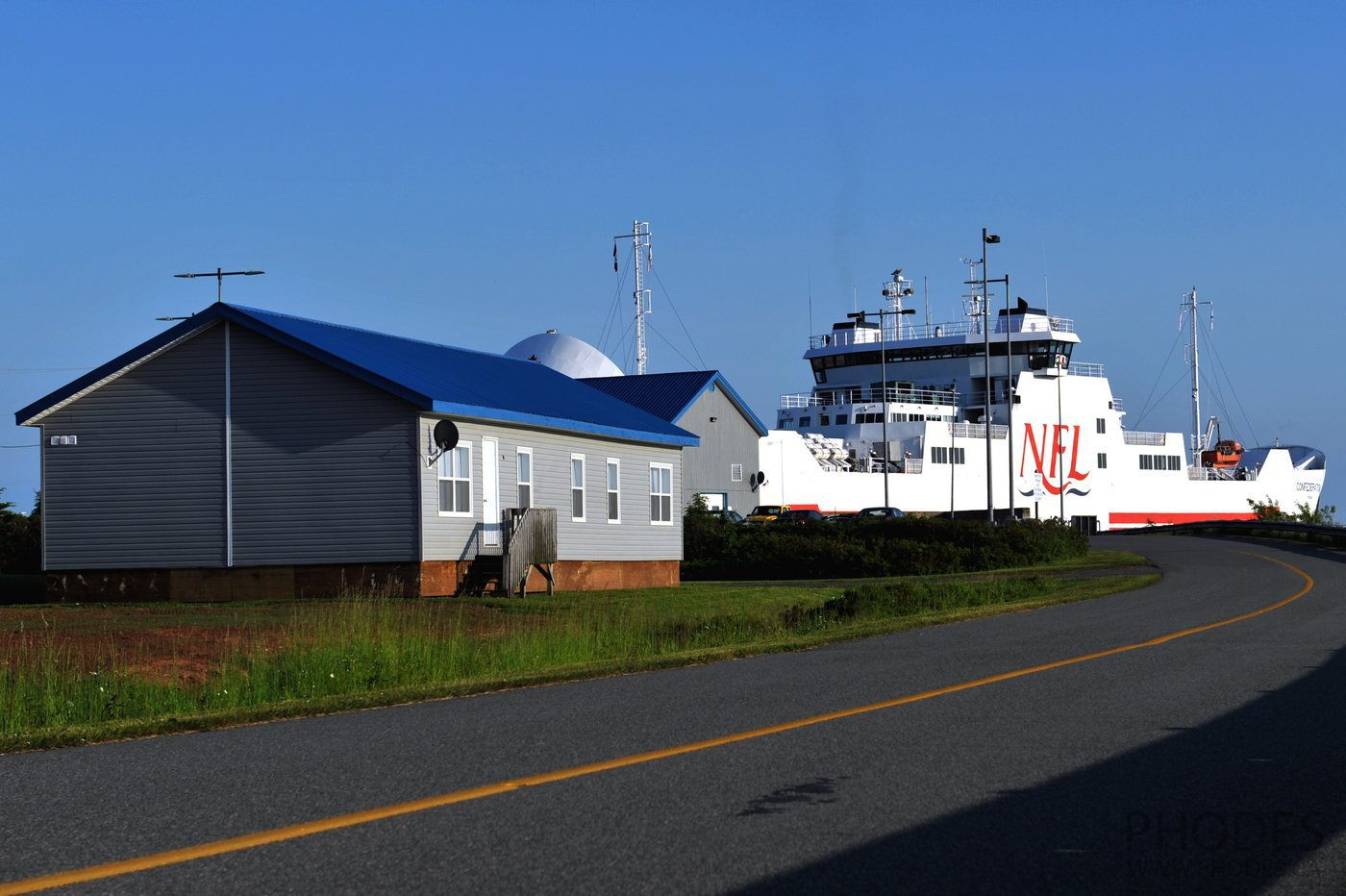 Ferry from Prince Edward Island to Nova Scotia