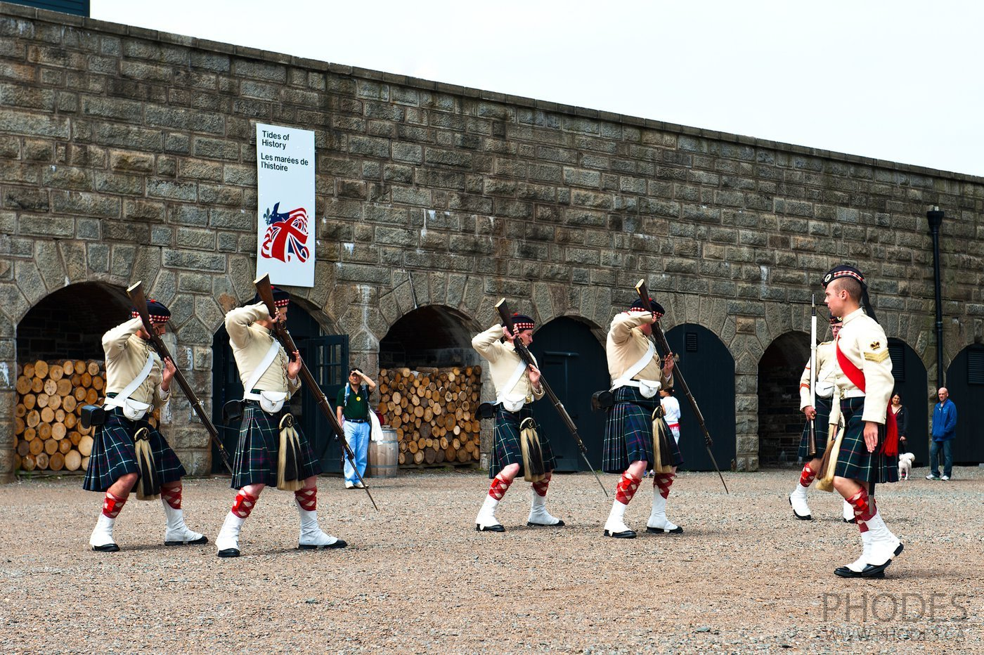 Presentation in Halifax Citadel