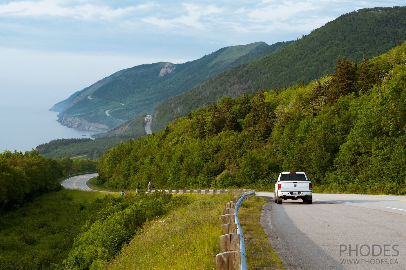 Landscape in Cape Breton Highlands National Park