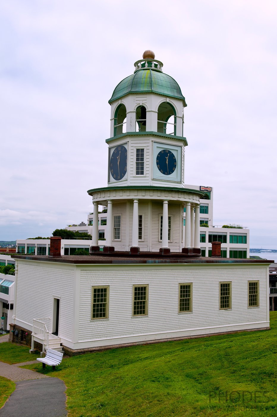 Clock Tower in Halifax Citadel