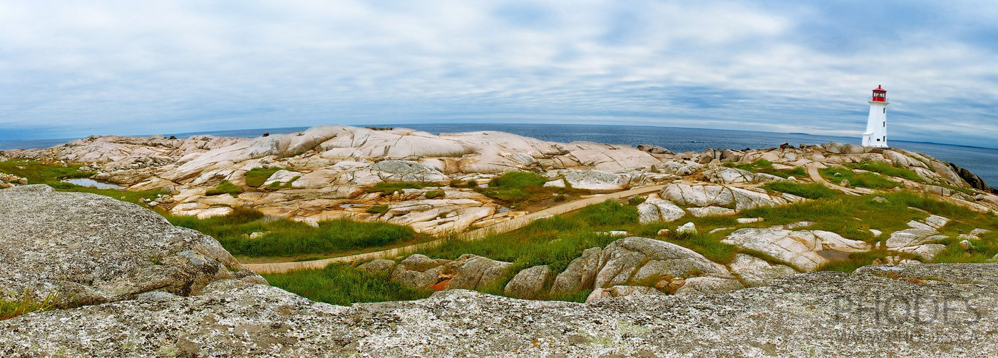 Peggy's Cove в Новой Шотландии