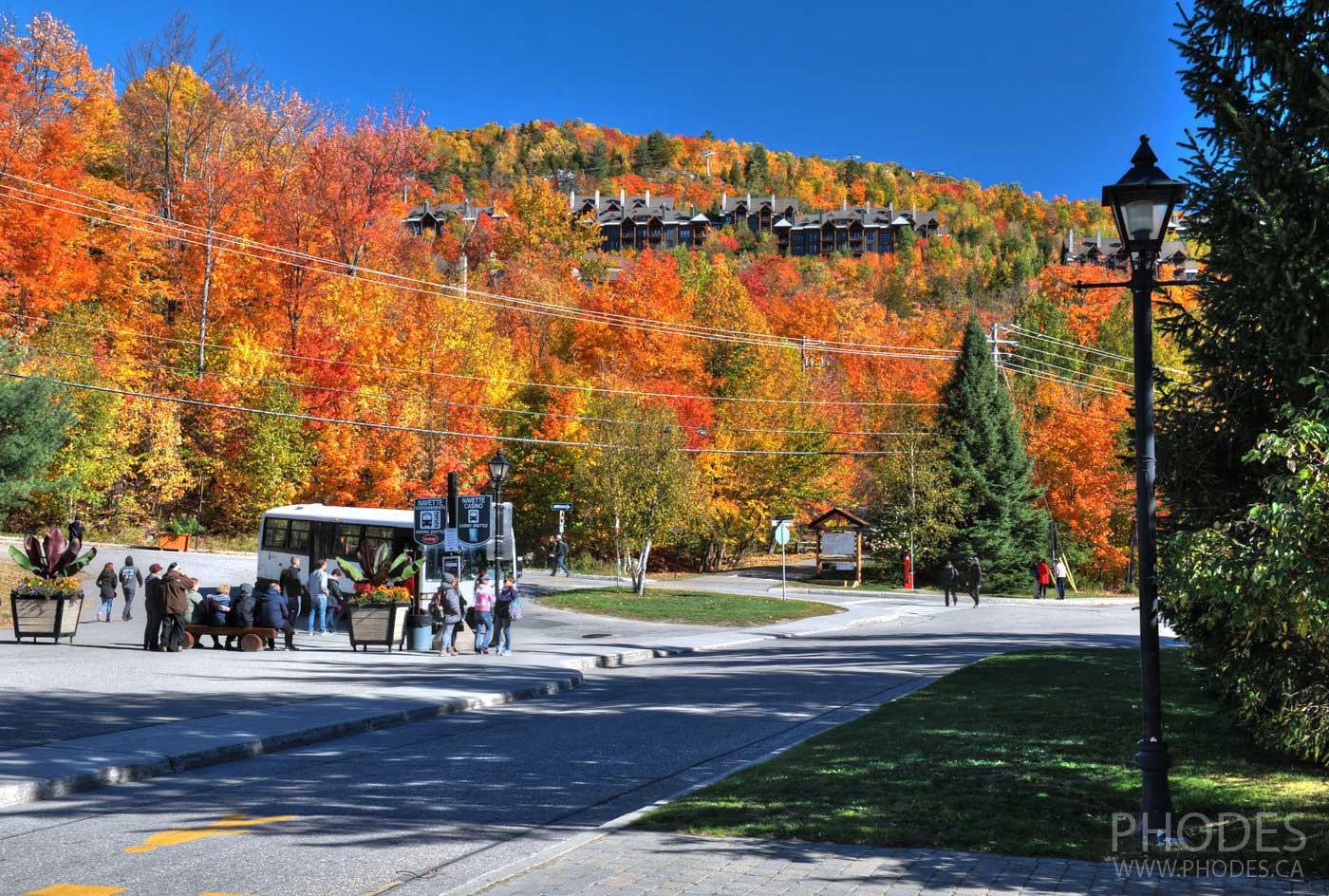 City of Mont-Tremblant near visitor center
