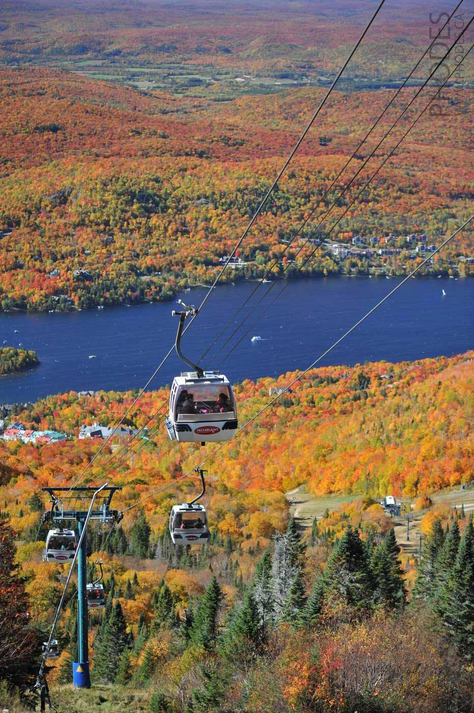 Panoramic gondola in Mont-Tremblant